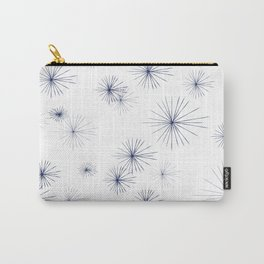 burst navy Carry-All Pouch