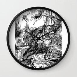 Los crímenes de la calle Morgue, POE Wall Clock