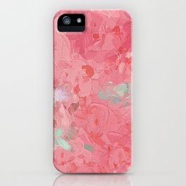 Painted Roses iPhone Case
