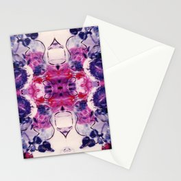 Wine & Flowers Photographic Pattern #1 Stationery Cards