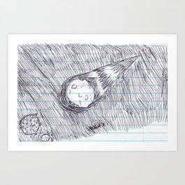 OOPS Art Print