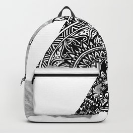Consider the Lilies Geometric Design Backpack