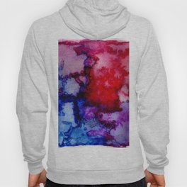 Abstract Watercolor Wash Hoody