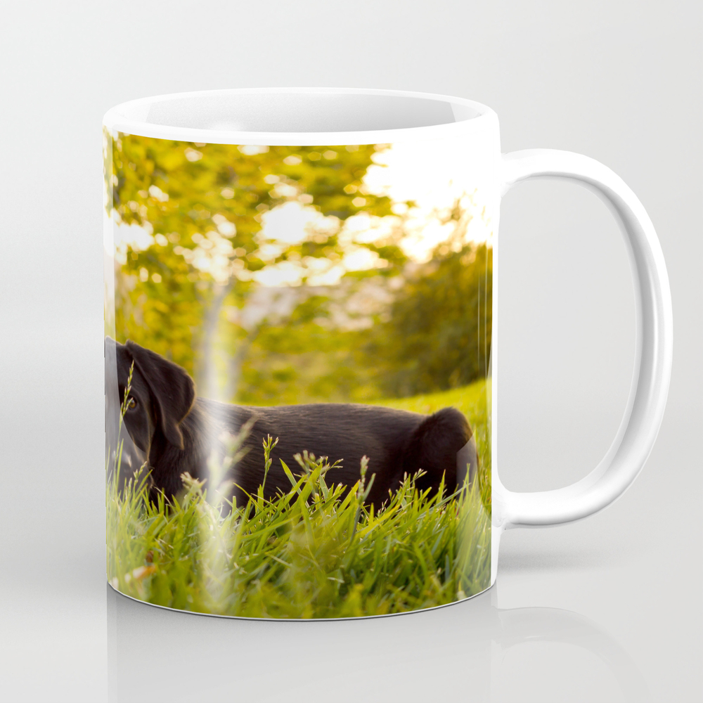 Shy Puppy Coffee Cup by Jorgearaujo MUG882061