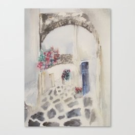 Greece inspired Canvas Print