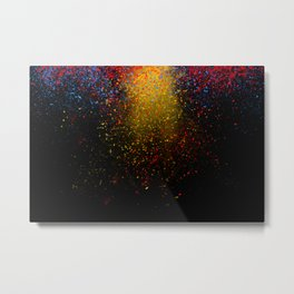 dust explosion Metal Print