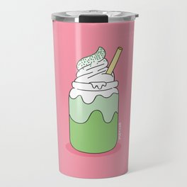 Matcha Smoothie Travel Mug