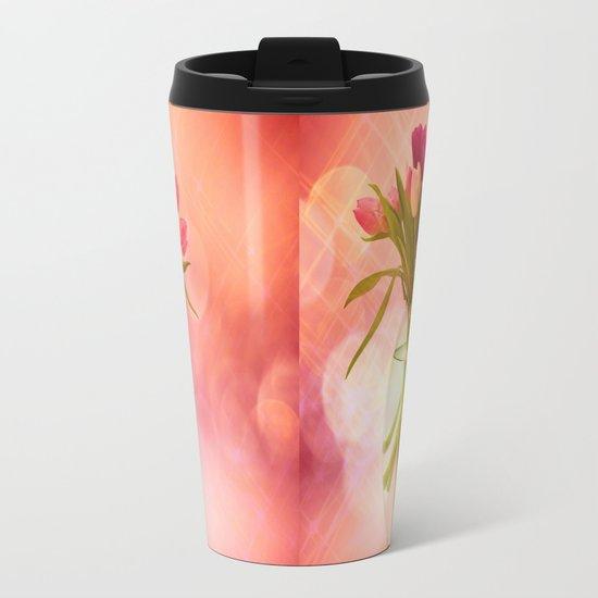 A Bloom for Spring Metal Travel Mug