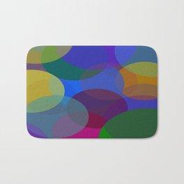 Circulos de colores Bath Mat