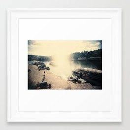 Metallic Sunshine Framed Art Print