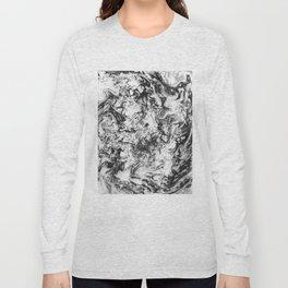 Suminagashi Series (Wei Qi) 卫气 Long Sleeve T-shirt