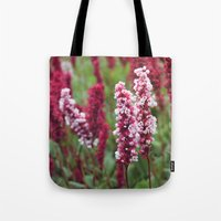 norway Tote Bags featuring Norway I by Cynthia del Rio