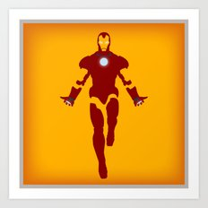 Mr. Stark (Iron Man) Art Print