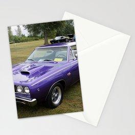 1968 MOPAR plum crazy Hemi Coronet 500 color photography / photograph / poster Stationery Cards