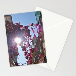 Sun & Street in Nafplio Stationery Cards