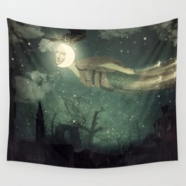 The Owl That Stole the Moon Wall Tapestry