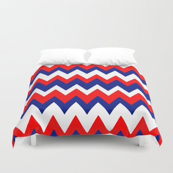 Red, White and Blue, 2016 Duvet Cover