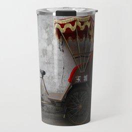 {the chinese rickshaw} Travel Mug