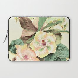 Tropical Botanical Yellow Laptop Sleeve