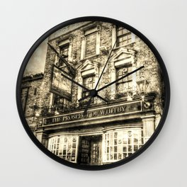 Prospect of  Whitby Pub London 1520 Vintage Wall Clock