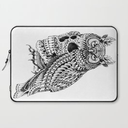 Great Horned Skull Laptop Sleeve