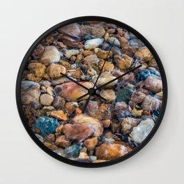 Moana Pebble Texture Wall Clock