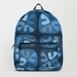 blue boomerangs Backpack