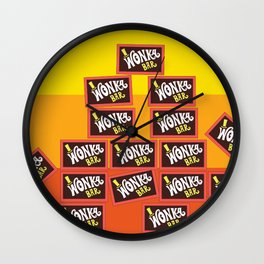 Willy Wonka And The Chocolate Factory Wall Clock