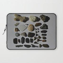 Beach Day Fossils Laptop Sleeve