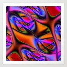 Capillary Art Print