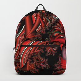 Red Dragon Fractal Backpack