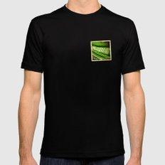 Grunge sticker of Kingdom of Saudi Arabia flag Black MEDIUM Mens Fitted Tee