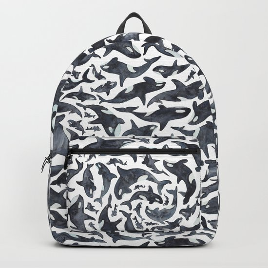 Whale, Orca Backpack