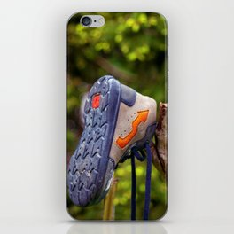 The lonely and lost shoe iPhone Skin