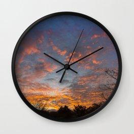 Devonian Drama Wall Clock