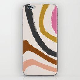 Zébra pop iPhone Skin