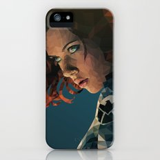 Black Widow Slim Case iPhone (5, 5s)