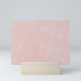 Pink and Orange  Mini Art Print