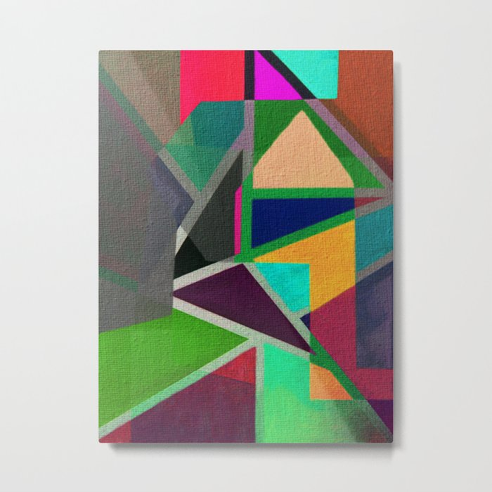 Complicerend Piet Mondriaan Metal Print