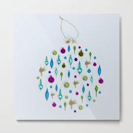 Christmas Sparkles Metal Print