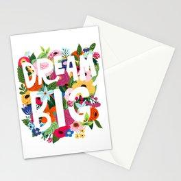 Dream big Stationery Cards
