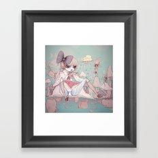 In Memory Of Framed Art Print