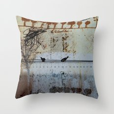 DRESSED LANDSCAPE VI Throw Pillow