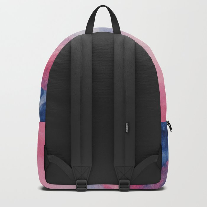 Pastel vibes watercolor 01 Backpack