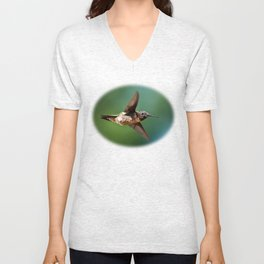 Hummingbird Swoop Unisex V-Neck