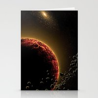 planet Stationery Cards featuring Planet by Svetlana Sewell