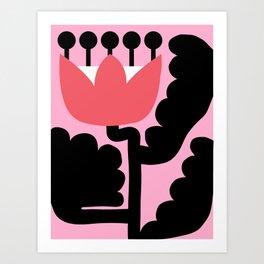 Pink Wonderland Art Print