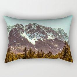 Alpspitze till Zugspitze Rectangular Pillow