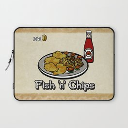 Fish 'n' Chips Laptop Sleeve