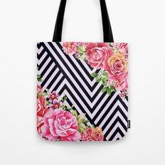 flowers geometric Tote Bag